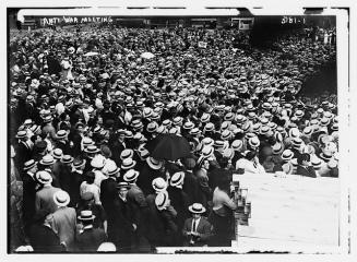 Folkemøte, 1910. CC-by-SA, Library of congress.