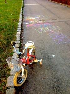 Sykkel og paradis